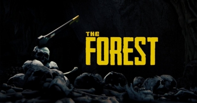 The Forest – Tree chopping and cannibal carving fun!