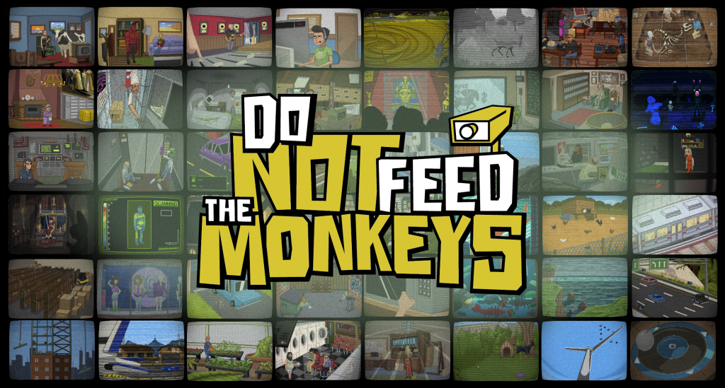 Do not feed the Monkeys: Big Brother at its most comical. 1