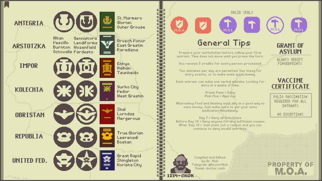 Papers, Please! Our review and tips to get you started 2